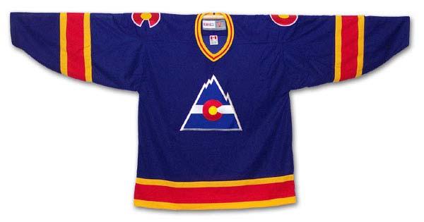 Colorado Rockies Hockey Jersey