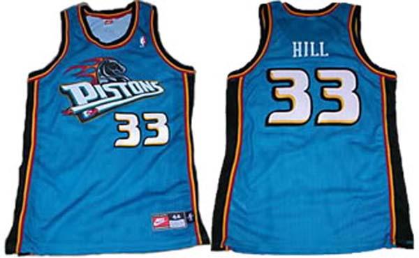 Detroit Pistons Teal Jersey