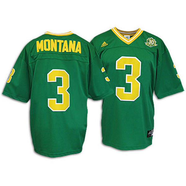 Notre Dame Green Jersey