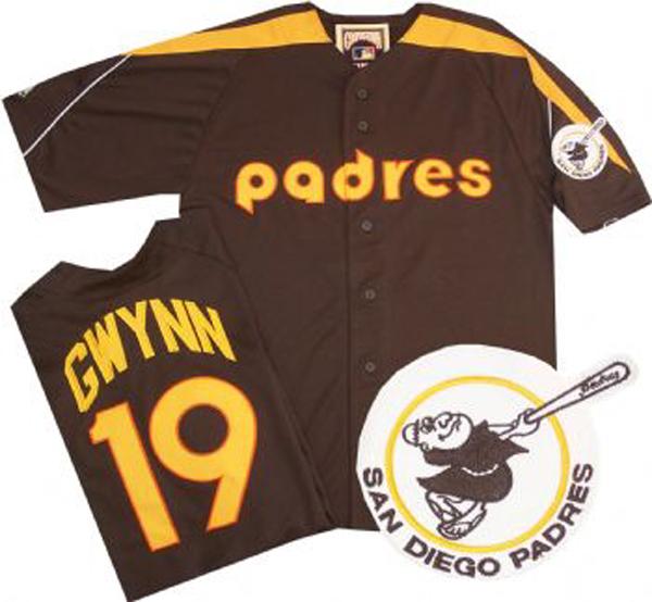 San Diego Padres Brown Jersey