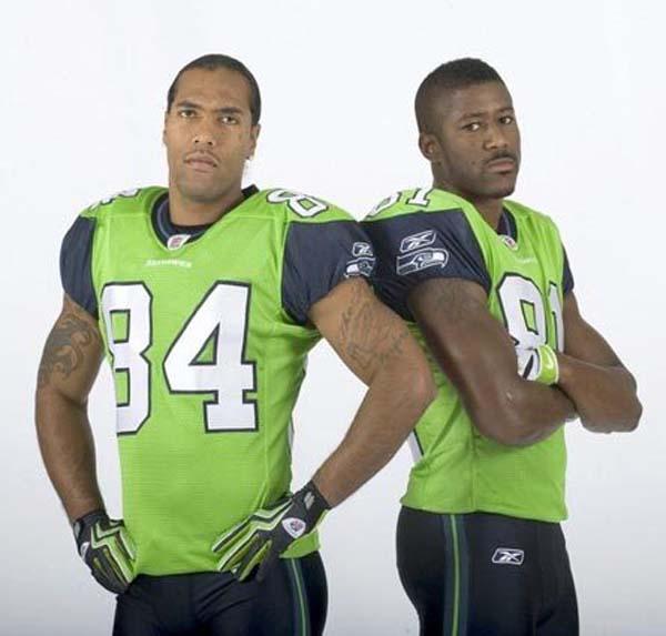 Seahawks Lime Green Jerseys