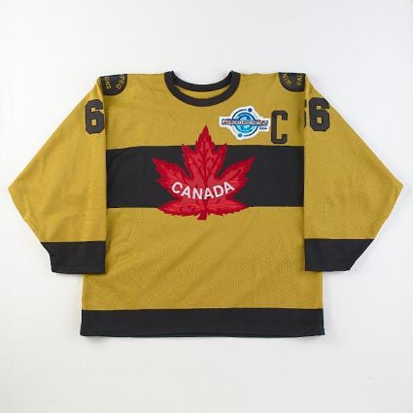 Team Canada Mustard Jersey