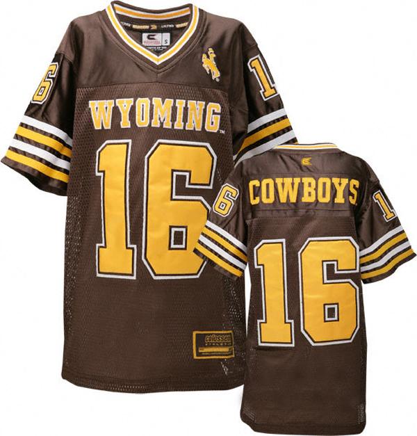 Wyoming Football Jersey