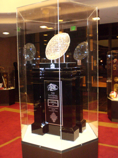 BCS Championship Trophy