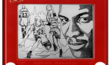 12 Amazing Sports Etch-A-Sketch
