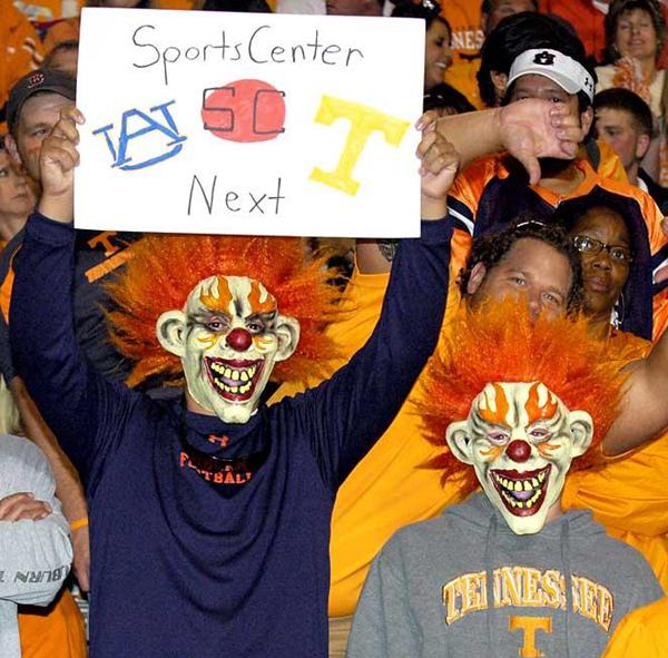 Tennessee Volunteers Die Hard Fans