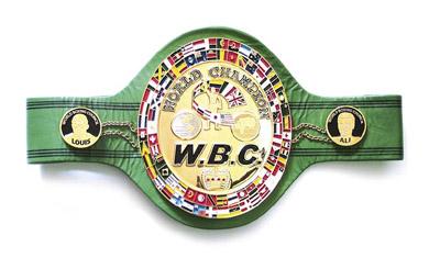 WBC Heavyweight Championship Belt
