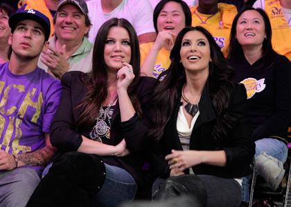 Khloe Kardashian Not A Favorite Among Lakers WAGs