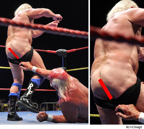 Ric Flair's Bare Ass Is Not A Sight For Sore Eyes