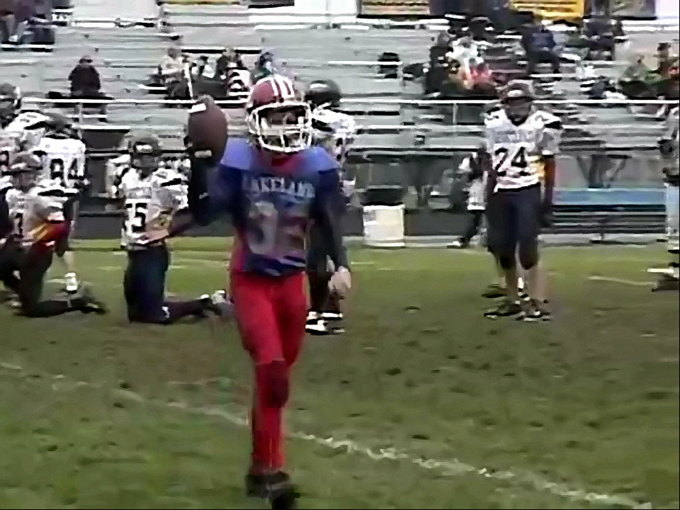 The Greatest Pee Wee Football Trick Play Ever