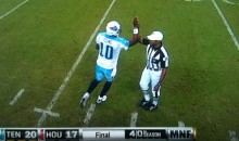 "NFL: ""The Vince Young-Referee High-Five Never Really Happened"""