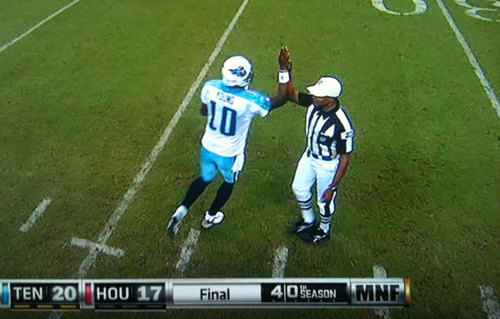vince young high five