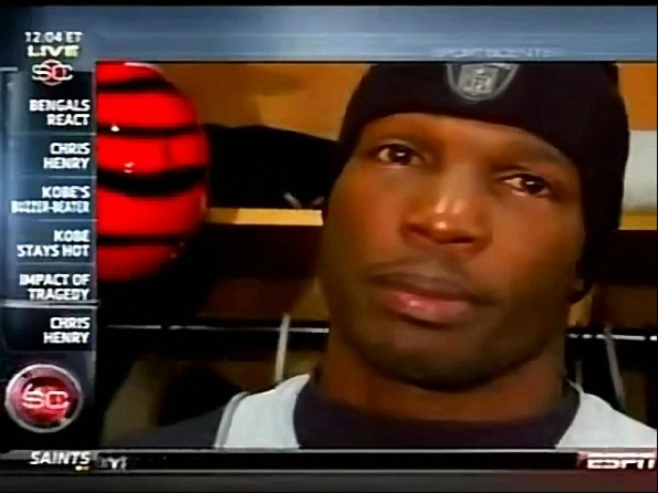 Chad Ochocinco Gets Emotional About the Late Chris Henry