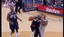 Devin Harris Drops Jamario Moon Driving to the Basket (Video)