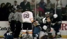 High School Girl Fights In Boys Hockey Game (Video)