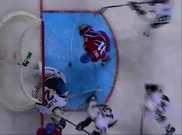 Intent to Blow Rule Negates Habs Scott Gomezs Goal