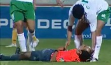 Moroccan Referee Knocked Out by Soccer Ball (Video)