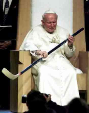 Pope John Paul Hockey