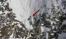 Snowboarder Clings to Edge of Cliff for His Life (PICS)