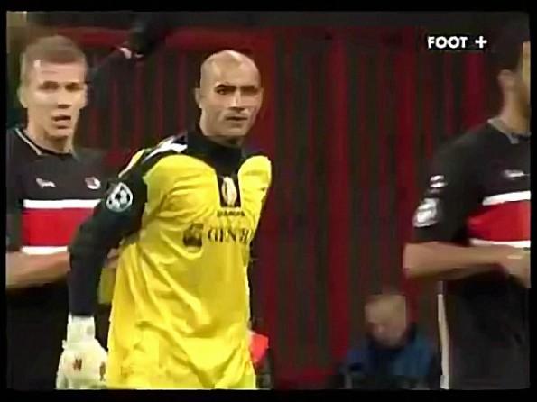 Soccer Goalie Scores Crazy Goal