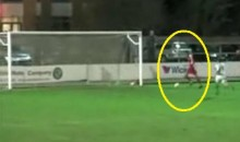 Soccer Player Misses Wide Open Net (Video)