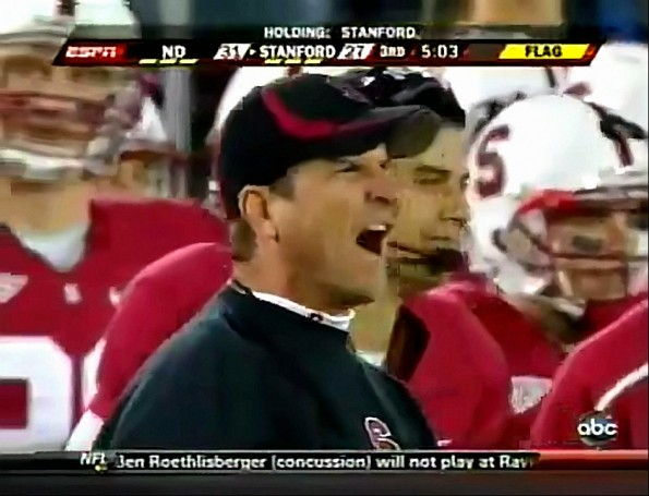 Stanford Football Coach Insults Gays