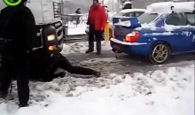 Subaru WRX Pulls Semi-truck Out of Snow with Ease (Video)