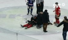 Swedish Hockey Referee Performs CPR, Saves Player's Life