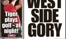 New York Post: 'Tiger Plays Golf – At Night!'
