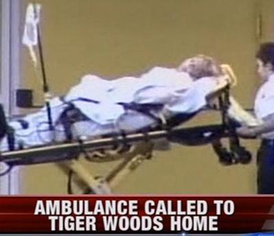 Tiger Woods Mother-in-Law Rushed to Hospital From his House