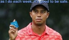 Tiger Woods New Sponsor: Trojan Condoms