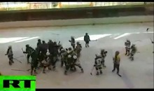 9-Year Olds Partake in Bench Clearing Brawl in Russia (Video)