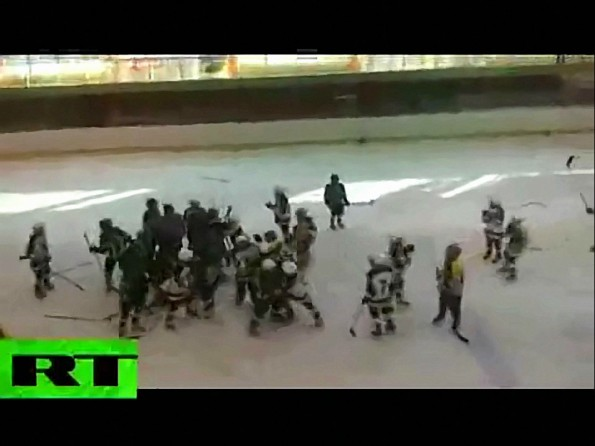 9-Year Olds Partake in Bench Clearing Brawl in Russia