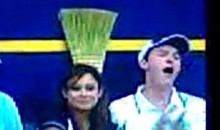 Baseball Fan Gets a Hand Job During Game (Video)