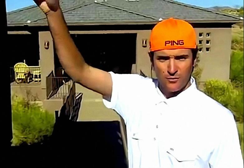 Bubba Watson's Awesome Trick Golf Shot (Video)
