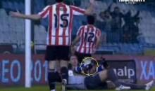 Filipe Scores, Breaks Leg In The Process