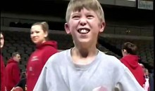 Giddiest Kid Ever Really Loves Basketball (Video)