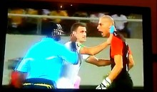 "Goalkeeper ""Head Butts"" Referee During African Cup (Video)"