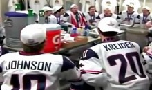 Gold Medal Winning U.S. Junior Hockey Team's Winning Chant