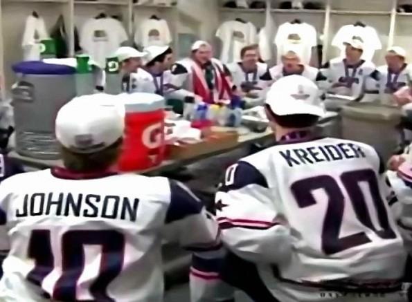 Gold Medal Winning U.S. Junior Hockey Team's Winning Chant
