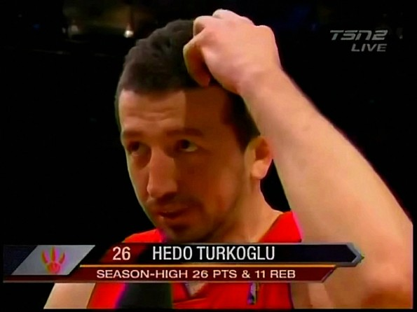 Hedo Turkoglu Thinks it's Just The Ball