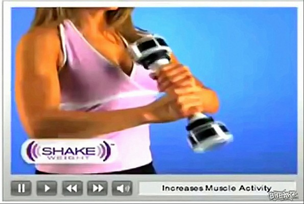Hilarious Shake Weight for Women Commercial