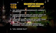 Letterman's Top Ten Wizards Gun Explanations (Video)