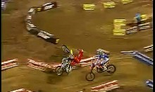 Some Bad Luck Results In Nasty Supercross Crash (Video)