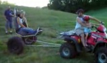 Spinning Hillbilly Racing Sure to Cause Elicit Nausea (Video)