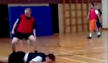 This is Why You Don't Play Indoor Soccer on Hardwood (Video)