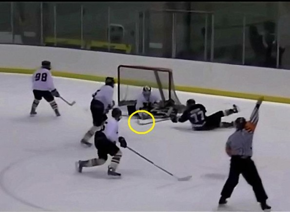 Utah High Schooler Scores Unreal Hockey Goal