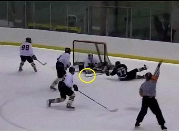 Utah High Schooler Scores Unreal Hockey Goal