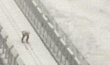 When Ski Jumping Meets Freestyle Aerials (GIF)