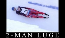 There Is Something Uncomforting About 2-Man Luge (PIC)